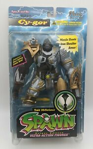 NEW Cy-Gor Golden Armored Spawn Series 4 Figure NIB McFarlane 1996