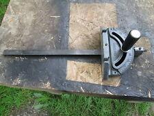Craftsman Table Saw 113 315 Miter  Gauge Steel/ Aluminum.