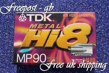 Tdk P5-90 Hmp Hi8 & Digital 8 Video Camcorder Tape / Kassette - Super Qualität