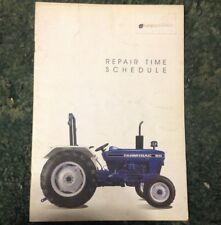 A New Repair Time Schedule Book For A Farmtrac 60 Tractor