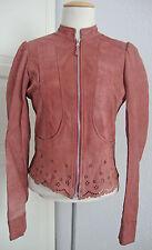 MISS SIXTY KICKY Leather Jacket Damen Lederjacke Jacke Gr.XS NEU mit ETIKETT