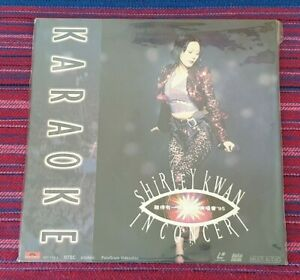Shirley Kwan ( 關淑怡 ) ~ Shirley Kwan in Concert ( Hong Kong Press ) Laser Disc