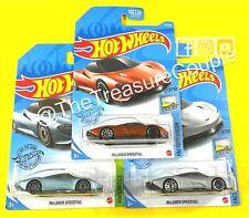 Hot Wheels - Lot of 3 - McLAREN SPEEDTAIL - 3 Variations / Colors - C40