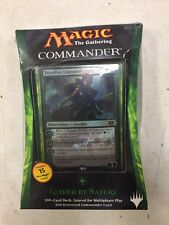 Magic The Gathering 2014 Commander Deck Guided By Nature For Card Game MTG