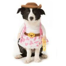 Cowgirl Halloween Dog Pet 2 Piece Costume Small (New with Tags)