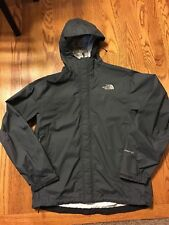 Gray North Face Hyvent DT Hooded Rain Wind Jacket Men's S Small