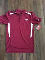 Rawlings Men's Epic Sideline Polo - Cardinal - Size S
