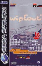 ## SEGA SATURN - wipEout (in OVP, aber mit Gebrauchsspuren) ##