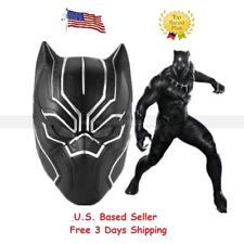 Black Panther Mask Marvel Super Hero Mask Captain America Halloween Cosplay Mask