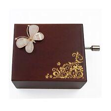 Mini Handcrank Music Box Tune of Fur Elise(Butterfly) Butterfly