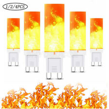 G9 36 LED Flicker Flame Light Corn Bulb Home Halloween Parties Fire Effect Lamps