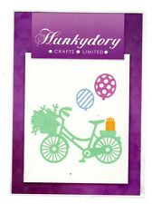 Hunkydory Crafts Limited  Bike with flowers & baloons - NEW