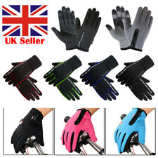 Mens Winter Warm Windproof Waterproof Anti-slip Thermal Touch Screen Ski Gloves
