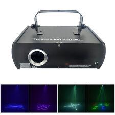 AUCD 500mW RGB Animation Beam DMX Laser Light Home Party DJ Club Stage Lighting