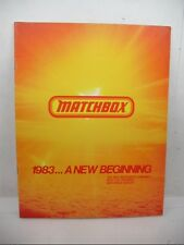 1983 MATCHBOX DEALER CATALOG 23 PAGES