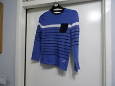 BOYS HUGO MULTI COLOURS LONG SLEEVE T-SHIRT 10-138 10 YRS GREAT CONDITION