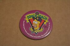 THE SIMPSONS TAZO PICKERS HOMERS WORLD! NO 01