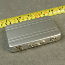 NEW FIGURE TOYS 1/6 silver Metal portable suitcase delicate box can be opened