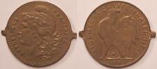 Jeton imitation du 10 Francs or au Coq, 1910 !!