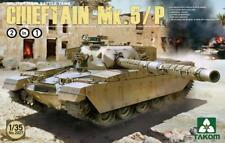 Takom 1:35 British Main Battle Tank Chieftain Mk.5/P 2 in 1 Model Kit #2027