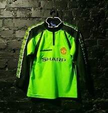 Manchester United Jersey Goalkeeper 1998-1999 shirt Umbro Trikot size young S