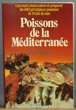 1983 ✤ Poissons de la Méditerranée / RECETTES ✤ Alan Davidson