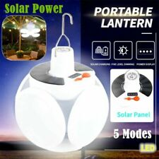 Solar LED Torch USB Rechargeable Night Light Outdoor Camping Lamp Emergency USA