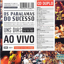 NEW Uns Dias Ao Vivo (Audio CD)