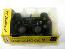 Brand New Sealed Genuine Sony PlayStation 2 PS2 Dualshock Controller Black