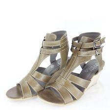 Maripe Shirley MAE scarpe donna Sandaletti ZEPPE PELLE NUMERO 41 NP 125 NUOVO