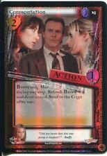 Buffy CCG TCG Angels Curse Limited Edition Foil Card #25 Confrontation