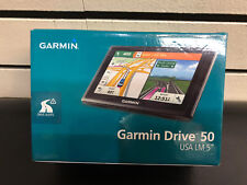 "BRAND NEW Garmin Drive 50 GPS Navigator USA LM 5"" (Free Lifetime Map Updates )"