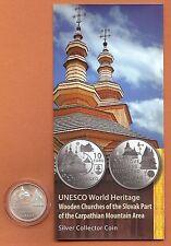 """10 Euro Slowakei 2010  """" Holzkirchen """"   stgl."""