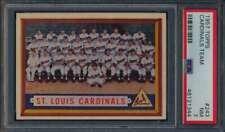 1957 Topps #243 St. Louis Cardinals  PSA 7  NM 56811