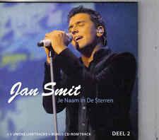 Jan Smit-Je Naam In De Sterren cd maxi single incl videoclip cardsleeve