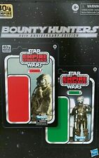 NOT MINT Star Wars Black Series BOUNTY HUNTERS 40th Anniversary 4-LOM & ZUCKUSS