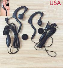 High Quality 2x Headset Earpiece Motorola MH230R/350R/MC220R/MJ270R -US STOCK