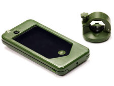 C24605GREEN Integy Bicycle Handle Bar 20-25mm Mounting System for iPhone 4/4S
