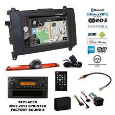 GPS Navigation Bluetooth CD USB Car Stereo+Backup Camera+Sprinter Radio Dash Kit