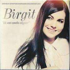 "Birgit ""Et uus saaks alguse"" EP 5 versions Estonia Eurovision 2013 NEW SEALED"