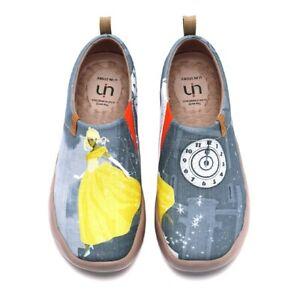 UIN Dreamy Midnight, Damenschuhe aus Leinen (Canvas), Motiv Märchen Cinderella