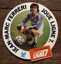Autocollant Sticker FOOTBALL Jean-Marc FERRERI AJ Auxerre / Uhlsport Ligne 7
