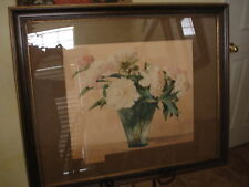 Original Watercolor Painting Nelly Littlehale Murphy California Boston c1900