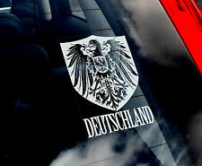 Germania-Finestra Auto Adesivo-DEUTSCHLAND Mannschaft FOOTBALL Aquila Tedesca DFB