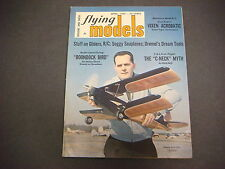 Flying Models Magazine,April 1969,Boondock Bird,Seaplanes,Acrobatic, R/C Planes