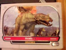 Star Wars 2012 Galactic Files 1 #298 Fambaa Kreaturen mint