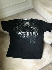 DISTURBED Black  Adult 2XL T-shirt THE GUY Heavy Metal Pre-owned