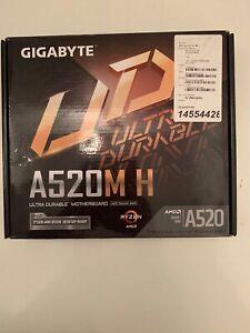 Gigabyte AMD Ryzen A520M-H AM4 MicroATX Motherboard BNIB