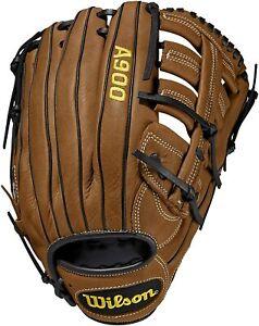 Men's Wilson A900 12.5in Baseball Glove LHT Brown