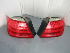 2011 BMW M3 TAIL LIGHTS LED OUTER LCI COUPE E92 328 335 2011-2013 OEM